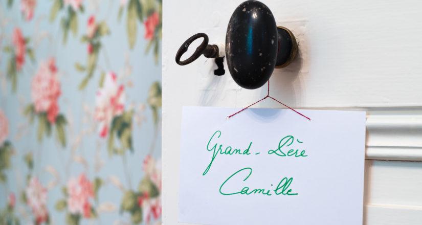 Le Castel - Lussac les Châteaux - Chambre Grand Père Camille