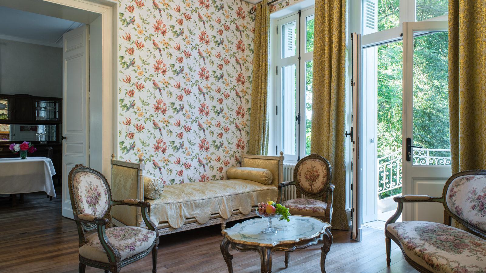 Le Castel - Lussac les Châteaux - Le Salon